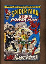 1995 Amazing Spider-Man Cancer Society Promo NM- Rare 1 Smokescreen Luke Cage C1