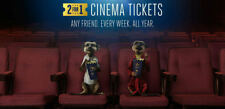 2-for-1 Cinema Ticket Codes: Odeon Vue Cineworld>Tuesday/Wednesday 16/17 October