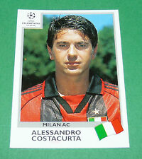 N°292 COSTACURTA MILAN AC ITALIA PANINI FOOTBALL CHAMPIONS LEAGUE 1999-2000