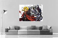 Full Metal Alchemist Edward Elric Anime Manga Wall Art Poster Grand format A0