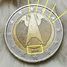 ⚡2 Euro Münze⚡       Deutschland_2003🦅 (⚡Fehlprägung❕)