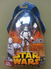Star Wars ROTS CLONE TROOPER White Super Articulation EP3 Revenge of the Sith