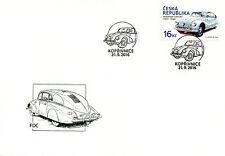 Czech Republic 2016 FDC Car Tatra 87 1v Set Cover Cars Motoring Stamps