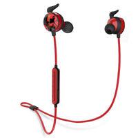 Bluedio AI  Bluetooth 4.2 Wireless Stereo Earphones Sports Headset In-Ear Red