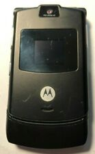 READ FIRST Motorola RAZR V3 Black AT&T Cell Phone Fast Shipping Excellent Used