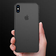 Ultra Thin Slim 0.3mm Matte Back Cover Skin for iPhone 6/7/ 8 Plus X Xs Max XR