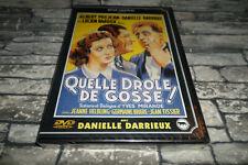 DVD - QUELLE DRÔLE DE GOSSE ! / DANIELLE DARRIEUX / DVD RENE CHATEAU NEUF