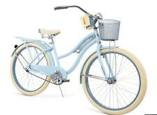 "🔥🔥NEW Huffy 26"" Nel Lusso Women Cruiser Bike Perfect Fit Frame Light Blue"