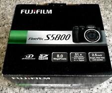 Fujifilm FinePix S Series S5800 8.0MP Digital Camera - Black