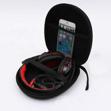 Travel Portable Protective Zip Up Hard Shell Case For Large Headphone Headset