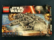 LEGO Star Wars Millennium Falcon 75105 1329 Pcs - Damaged Box - Sealed Bags READ