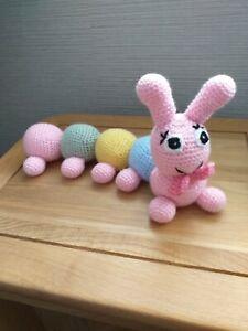 New Handmade Soft Toy Caterpillar