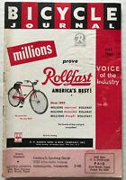 1966 Bicycle Journal Magazine SCHWINN STING-RAY Bart Starr Green Bay Packers AD