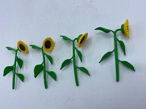 Playmobil Sunflower Farm 4 Flowers