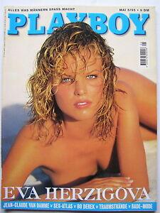 Playboy - D 5/1995, Eva Herzigova, Bo Derek, Woody Allen, Jean Claude van Damme