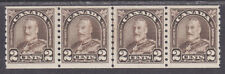 Canada Uni 182iii MNH. Cockeyed King Variety Strip
