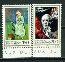 San Marino Picasso Famous Paintings set 1981 MNH