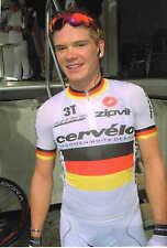 Carte postale Coups de Pédales Martin Reimer champion d'Allemagne 2009