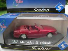 SOLIDO 1/43 METAL MERCEDES BENZ SL CABRIOLET  1517!!!!!