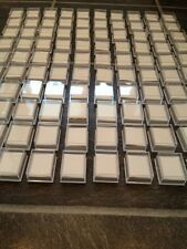WHOLESALE JOBLOT 500 CLEAR BOXES PACKAGING SUPPLIE FOR BODY JEWELLERY, EARRINGS