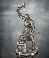 Zinnfigur. Schmied. Middle Ages Model 54mm collectible statue Mw-16 sculpture