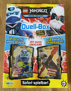 LEGO Ninjago Serie 5 NEXT LEVEL TCG - Duell Box inkl. 2 Limitierte Karten