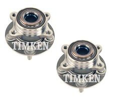 Pair Set of 2 Rear Timken Wheel Bearing Hub Kit for Ford Fusion Lincoln MKZ AWD