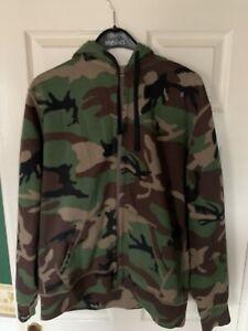 Ralph Lauren Polo Camo Zip Sweatshirt Hood Mens XL