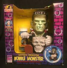 Vintage Battery Operated Bubble Monster Frankenstein Tootsietoy Old Stock NRFB