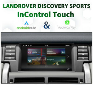 Land Rover Discovery Sports -  Apple CarPlay & Android Auto Integration