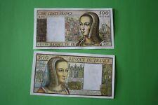 500 francs type 1986 renaissance Anne de Bretagne  non émis  - copie