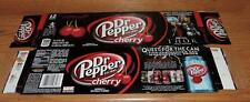 "2011 DR PEPPER CHERRY LE MARVEL THOR ""QUEST FOR THE CAN"" EMPTY 12-PACK CARTON"