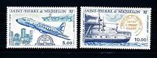 """ST. PIERRE E MIQUELON - PA - 1987 - Aerei recanti il nome """"Città di St. Pierre"""""""