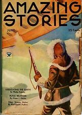 Amazing Stories  Vol 9   # 2   Pulp   June 1934    FINE