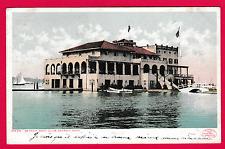 Vintage card. Detroit Boat Club , Detroit, Michigan