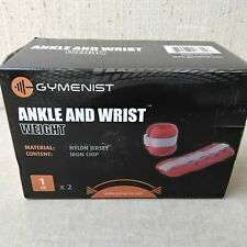 Gymenist Ankle Wrist Weight 1lb X2