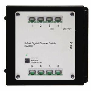 On-Q/Legrand 8-Port Gigabit Network Switch (DA1008)