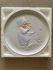 "Precious Moments ""Winter'S Song"" Collector Plate #12130"