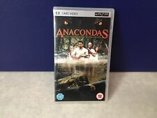ANACONDAS UMD VIDEO SONY PSP AUDIO FRANCAIS ESPAGNOL ITALIEN ANGLAIS ALLEMAND