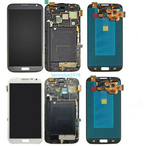 Pour Samsung Galaxy Note 2 N7100/N7105 écran tactile affichage LCD Display+cover