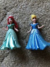 Cinderella And Ariel Polly Pocket Magic Clip Dolls And Outfits