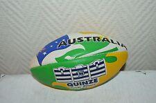 MINI BALLON RUGBY SERGE BLANCO QUINZE GILBERT AUSTRALIE AUSTRALIA  T 1 NEUF BALL