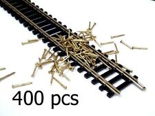 "Lot 400 pcs  1/2"" Track Nails Used For HO-HOn30 Scale"