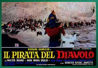 T58 Fotobusta Die Pirat Der Teufel Richard Harrison Walter Brandi Ubaldi 2