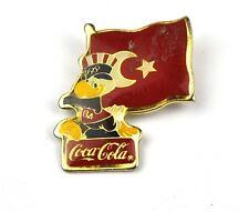 Coca Cola Coke USA Solapa Pin Botón Divisa de Olympia L.a. 1980 Turquía
