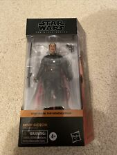 "Star Wars Black Series 6"" The Mandalorian Moff Gideon Hasbro In Stock!"