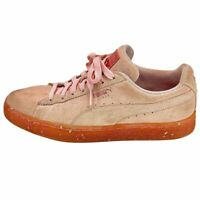 Puma Womens Suede Classic 367048-02 Pink Running Shoes Lace Up Low Top Size 8.5