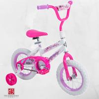 """Kids Bike Girls 12"""" Outdoor Bicycle Training Wheels Toddler Children Pink"""