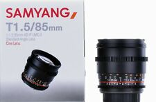 Samyang 85mm T1.5 AS IF UMC Mk2 VDSLR Lens Canon EF Mount - Open Box