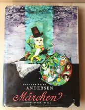 Vintage German Hans Christian Andersen - Märchen J.Trnka Artia Praha 1961 Book